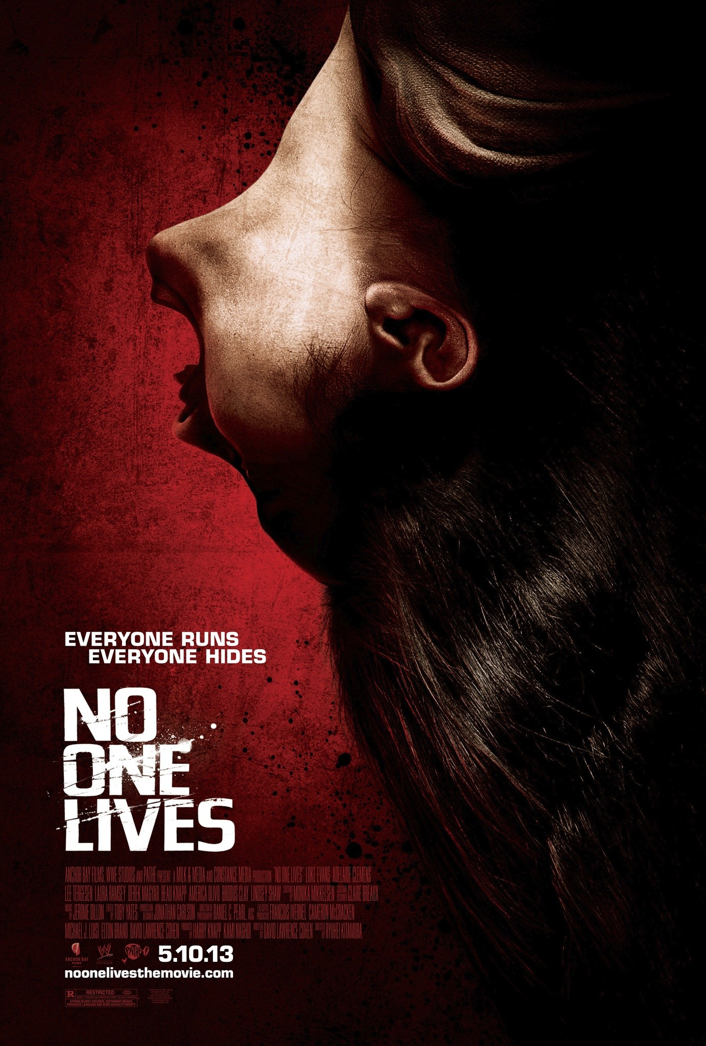 плакат фильма постер Никто не выжил
