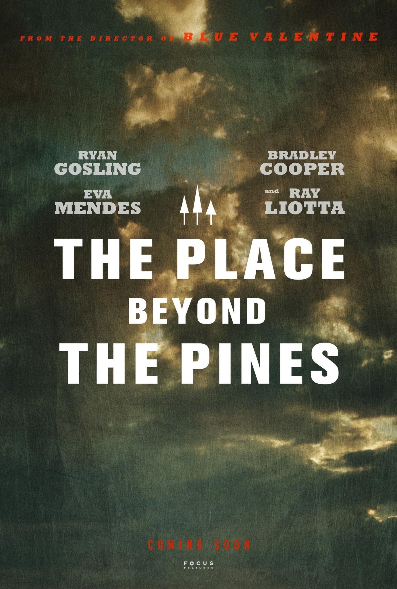 плакат фильма тизер Место под соснами