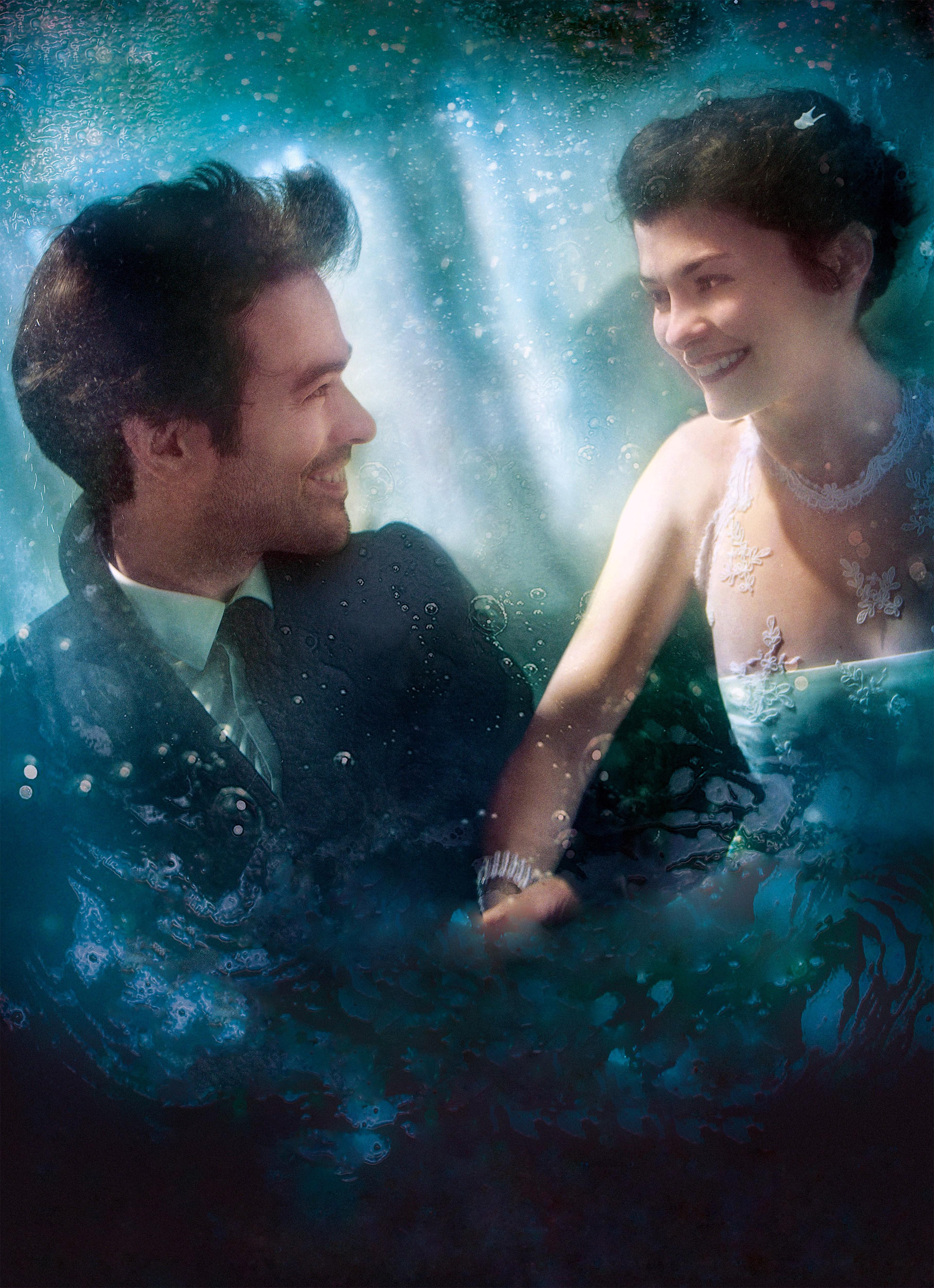 плакат фильма постер textless Пена дней