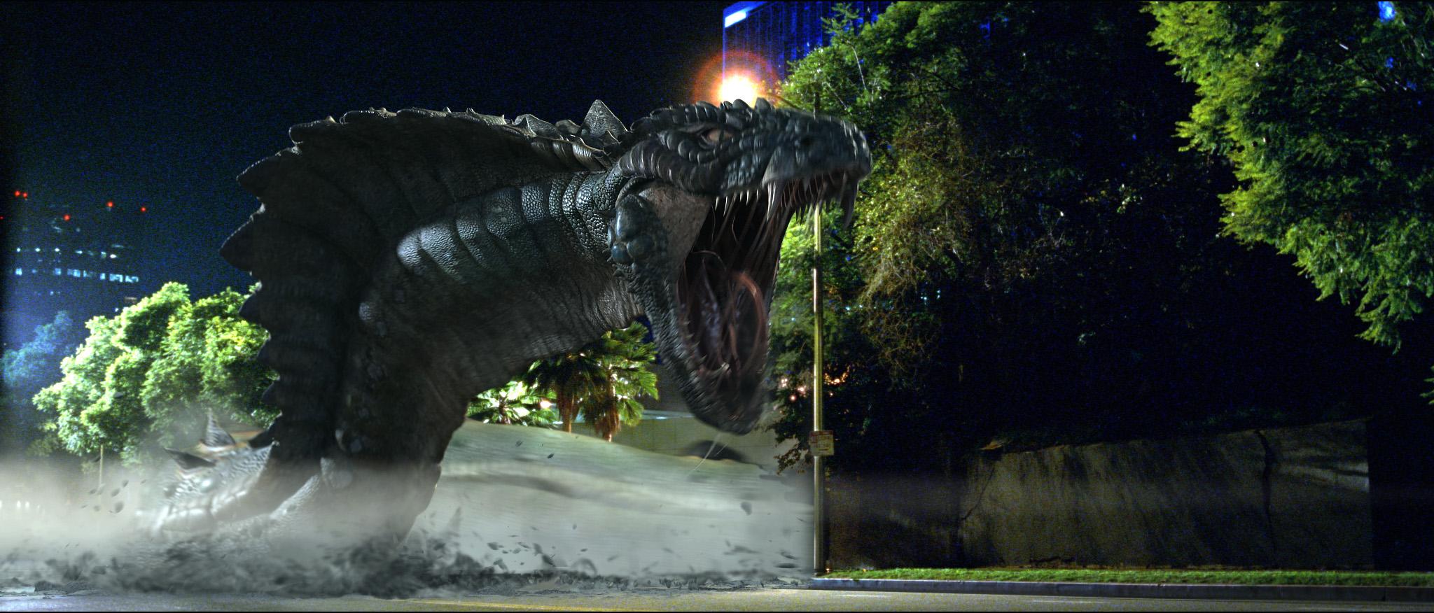 кадры из фильма Война динозавров