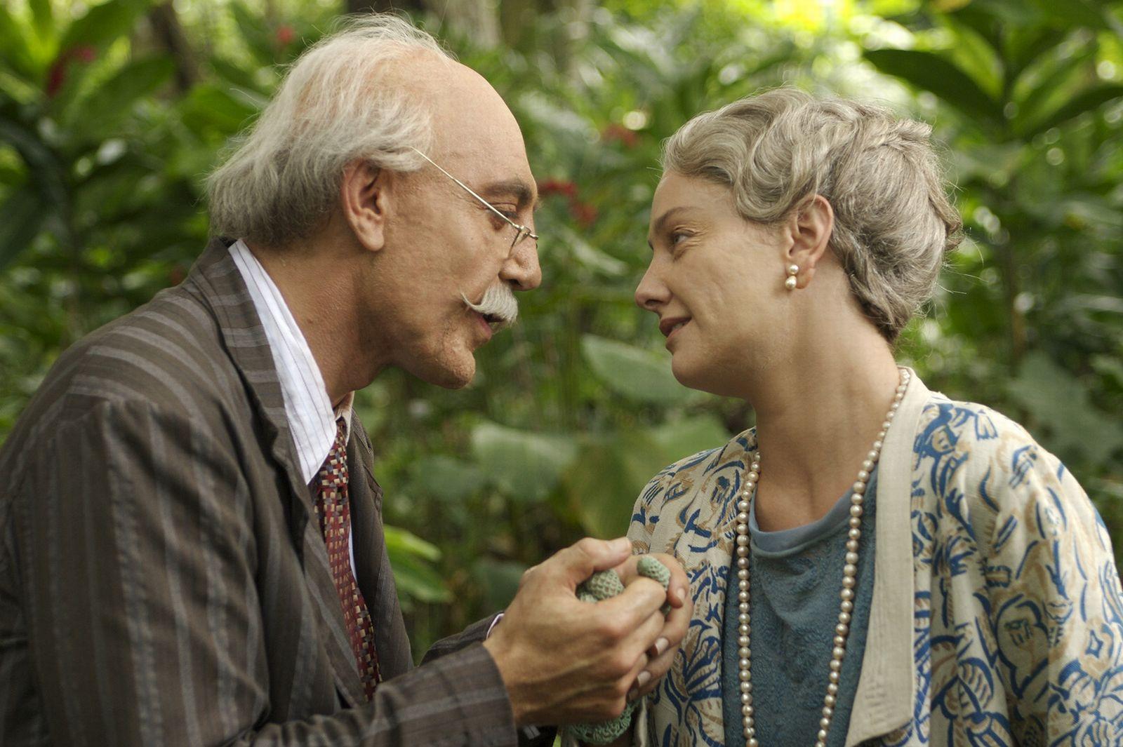 кадры из фильма Любовь во время холеры Джованна Меццоджорно, Хавьер Бардем,