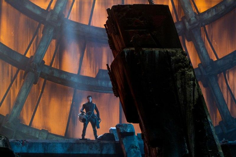 кадры из фильма Стартрек: Возмездие Бенедикт Камбербатч,