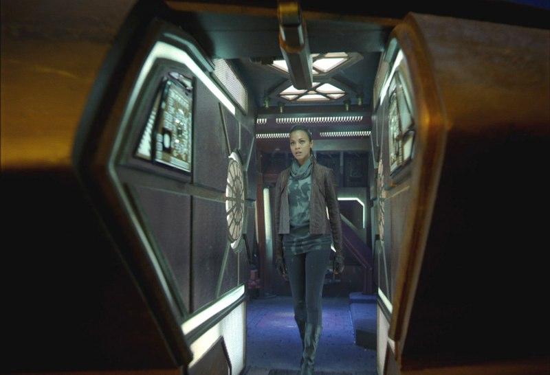 кадры из фильма Стартрек: Возмездие Зои Салдана,