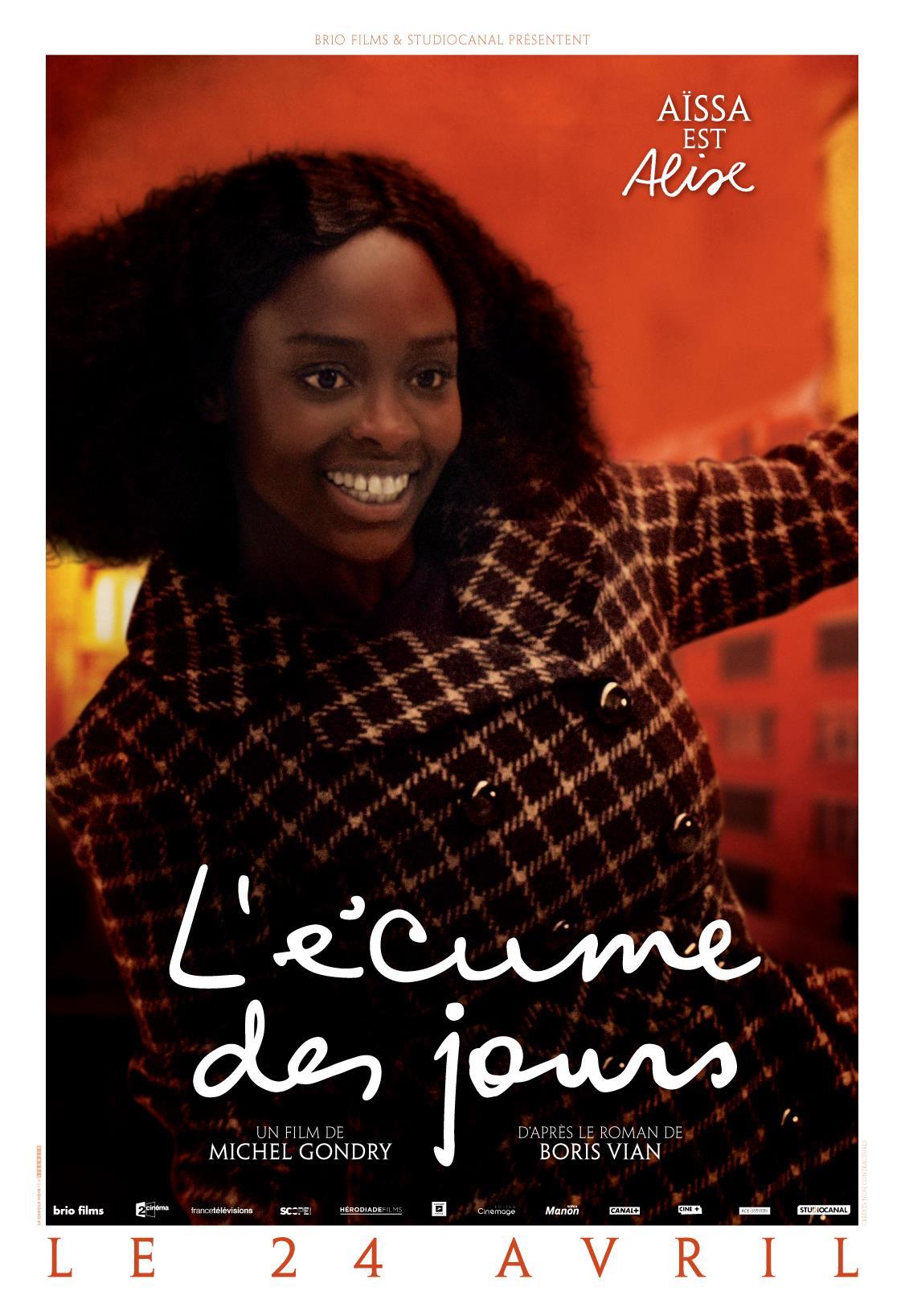 плакат фильма характер-постер Пена дней