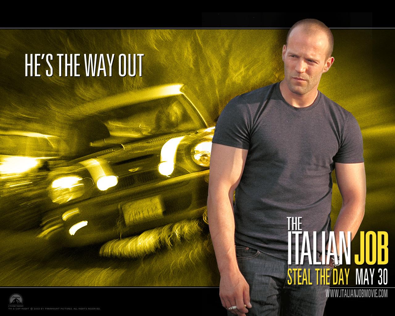 плакат фильма постер характер-постер Ограбление по-итальянски