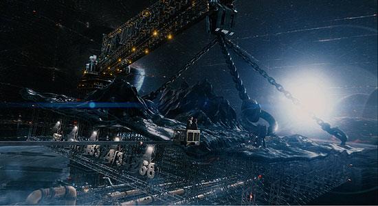 кадры из фильма Автостопом по Галактике