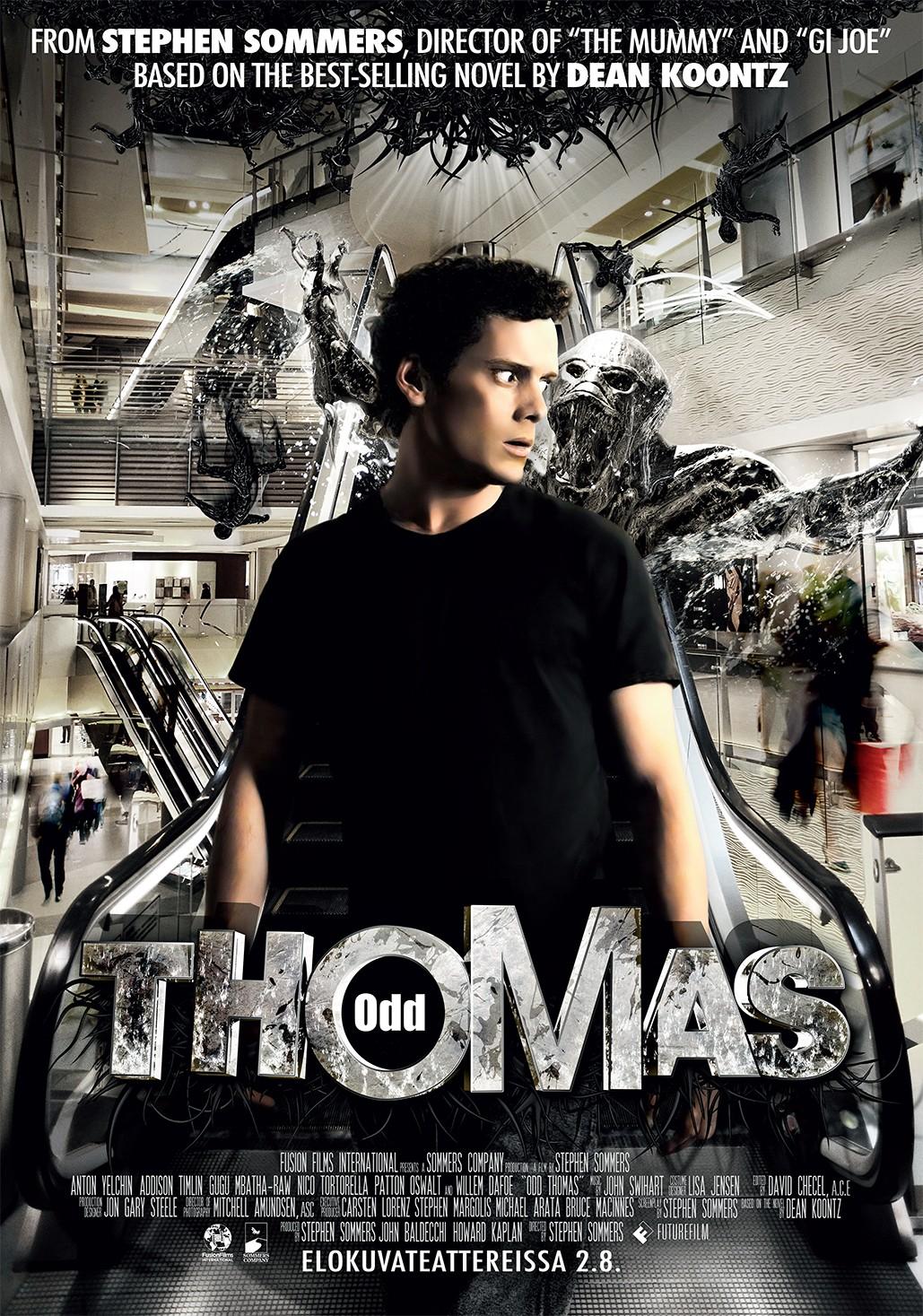 плакат фильма постер Странный Томас*