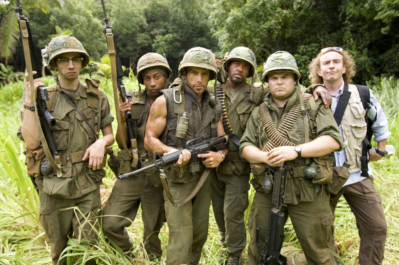 кадры из фильма Солдаты неудачи Стив Куган, Джей Барушел, Роберт Дауни-мл., Брэндон Т. Джексон, Джек Блэк, Бен Стиллер,
