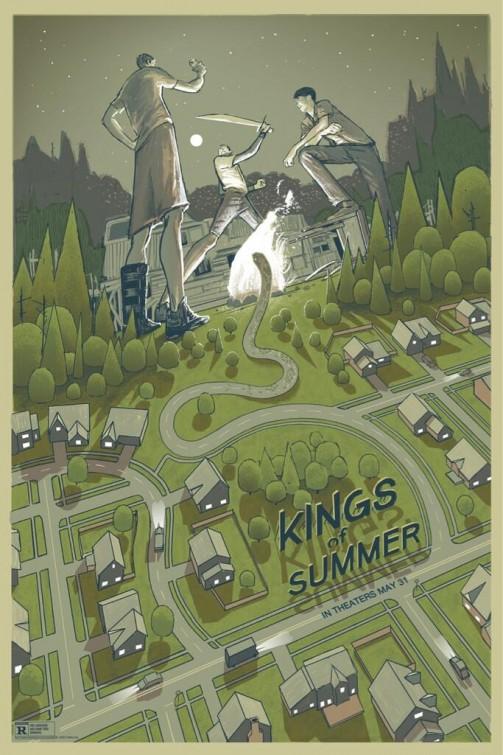 плакат фильма постер Короли лета
