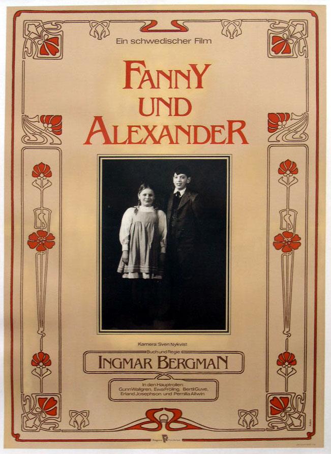 плакат фильма постер Фанни и Александр