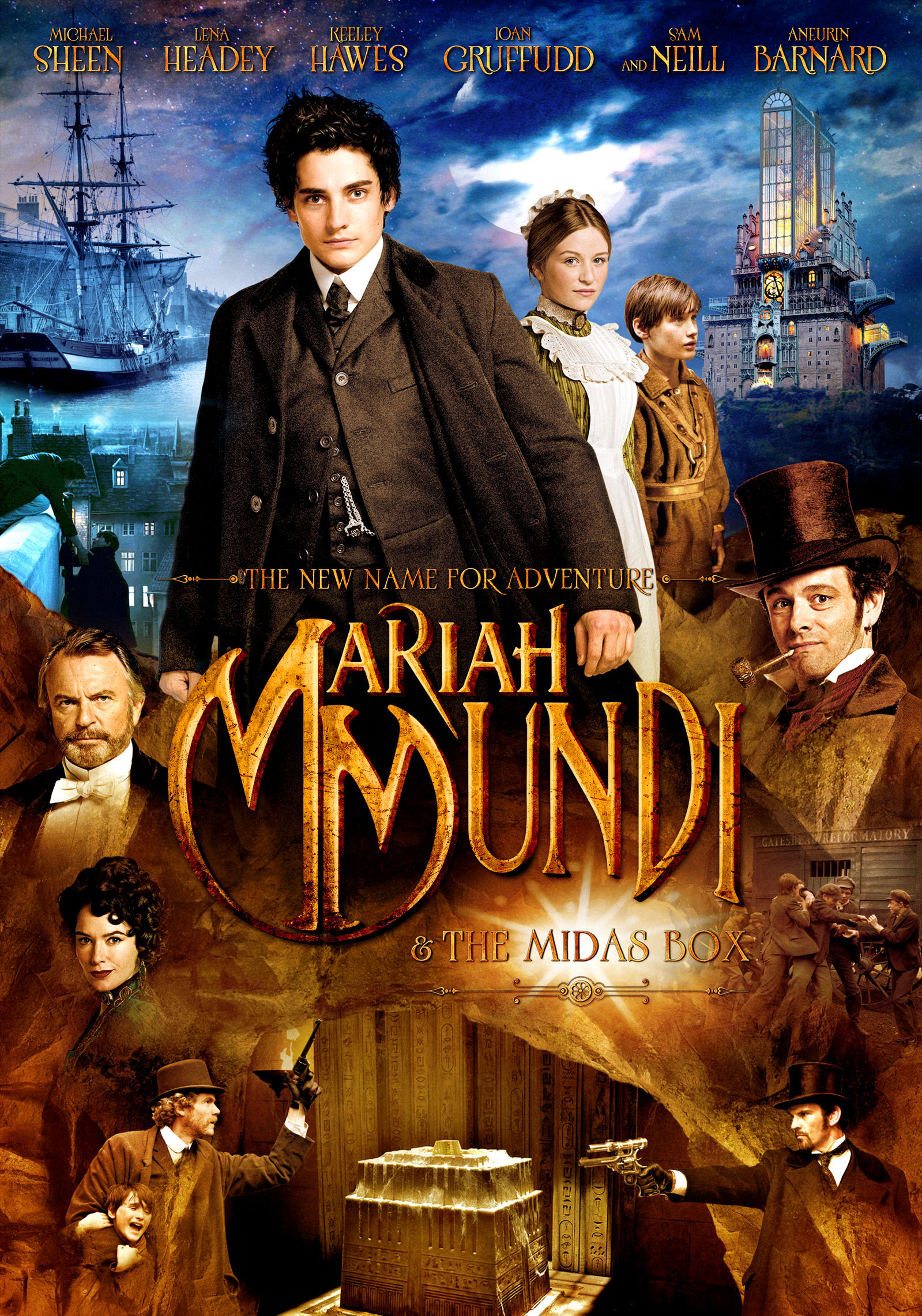 плакат фильма постер Мэрайа Мунди и шкатулка Мидаса