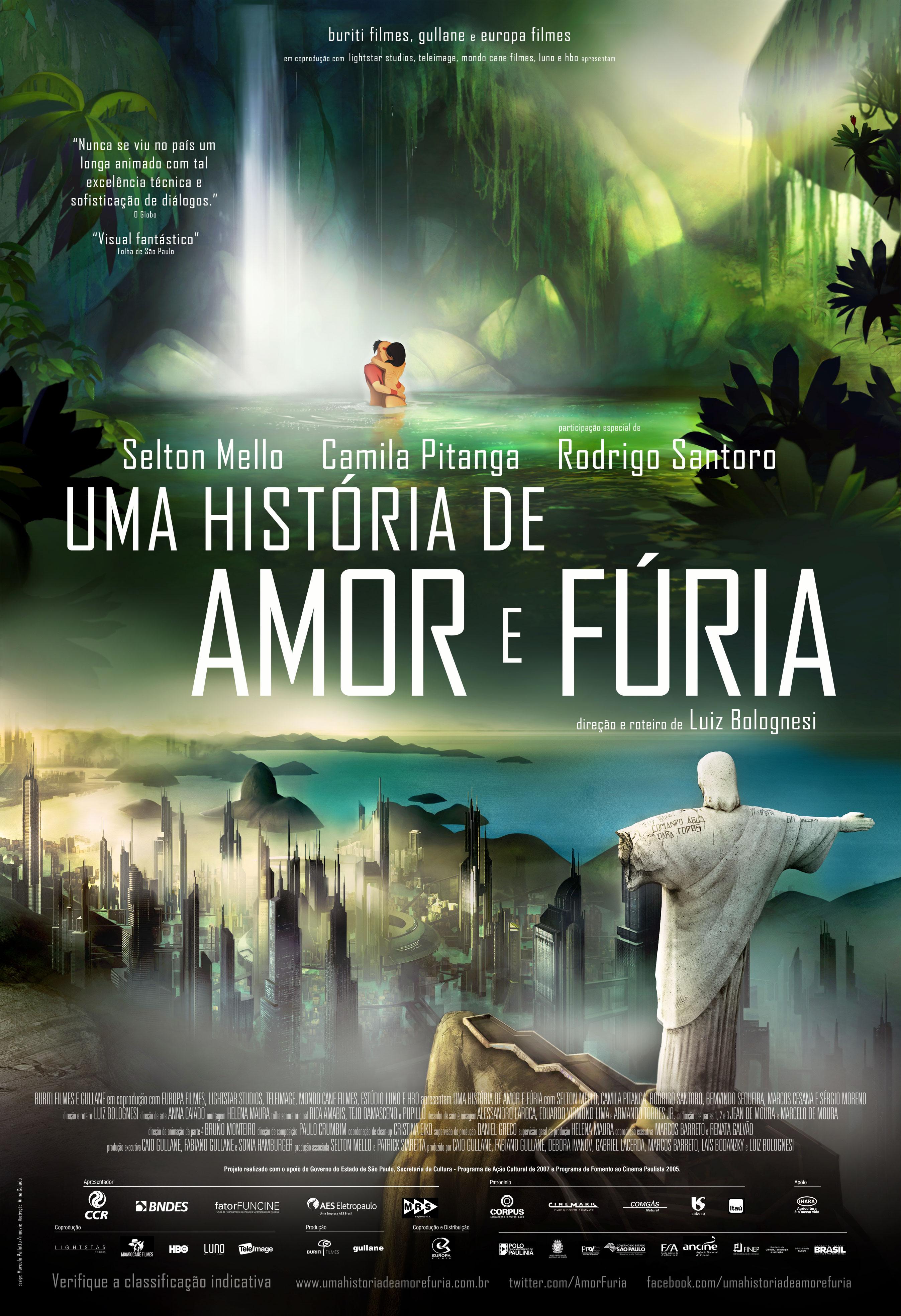 плакат фильма постер Рио 2096: Любовь и ярость*