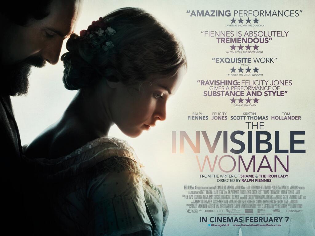 плакат фильма баннер Женщина-невидимка*