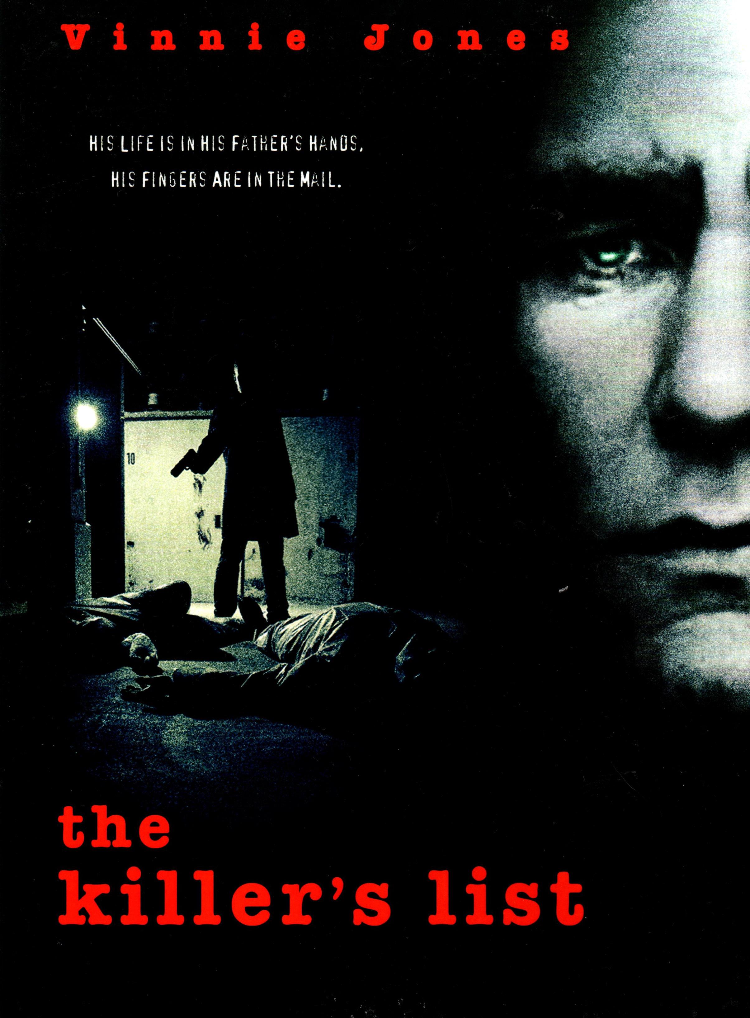 плакат фильма постер Список наемного убийцы