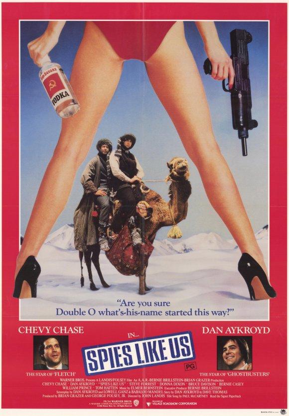 плакат фильма постер Шпионы как мы