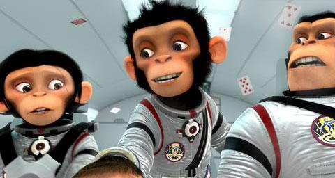 кадры из фильма Мартышки в космосе