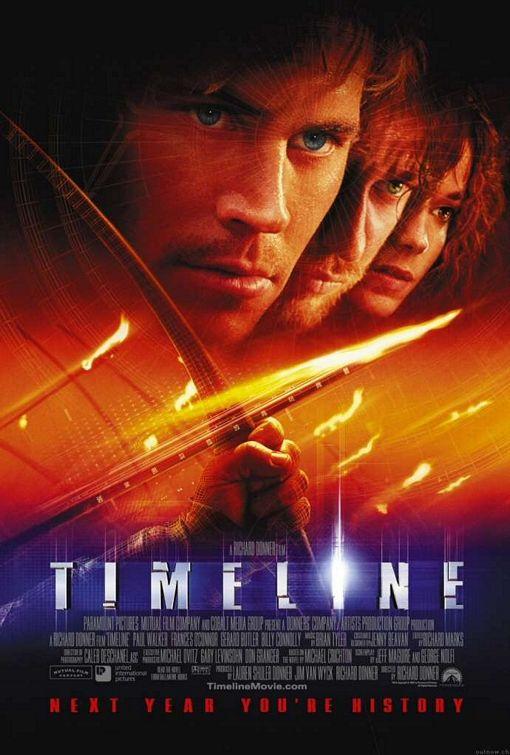 плакат фильма постер В ловушке времени