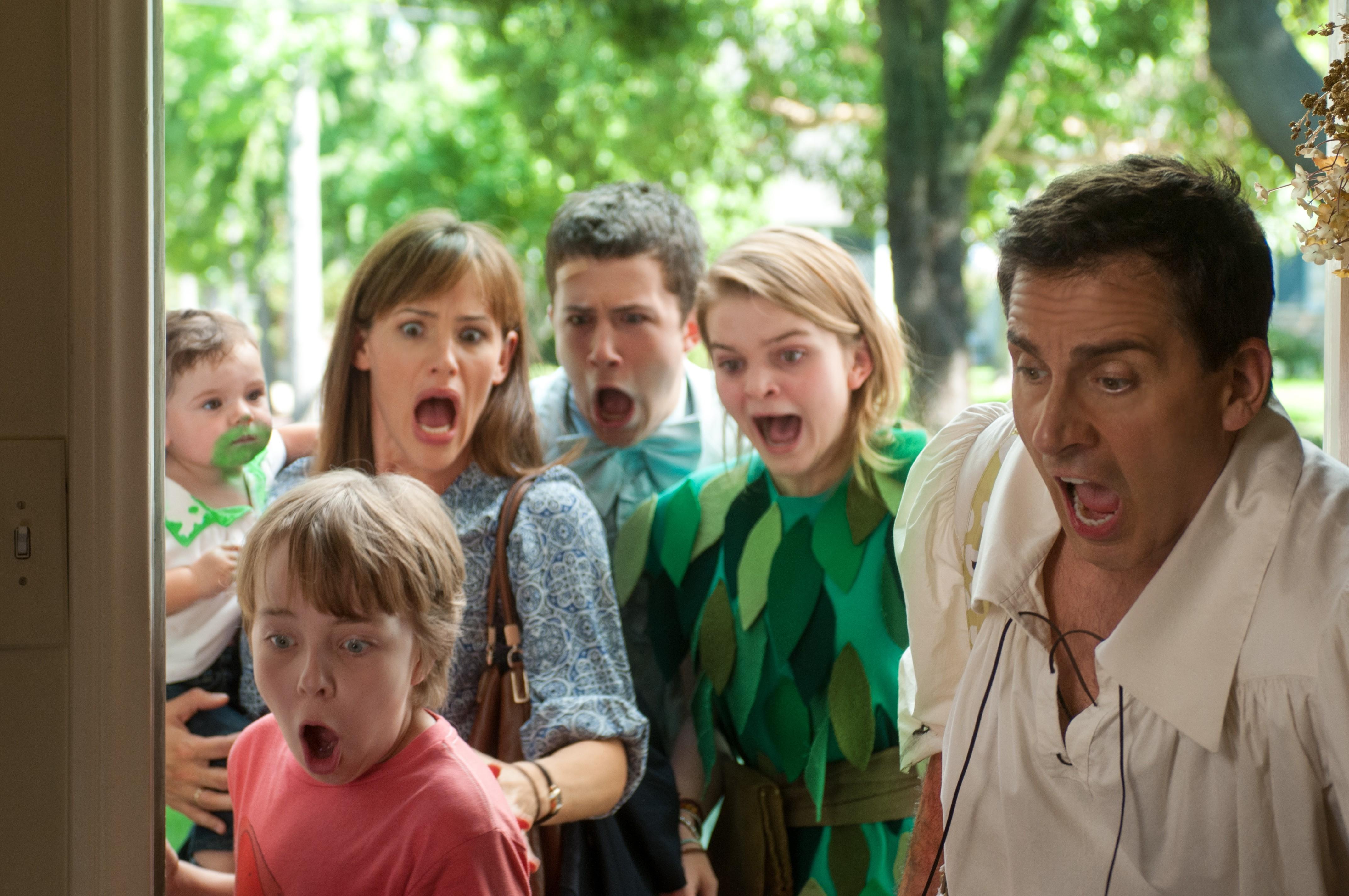 кадры из фильма Александр и ужасный, кошмарный, нехороший, очень плохой день Эд Оксенболд, Дженнифер Гарнер, Дилан Майннетт, Керрис Дорси, Стив Карелл,