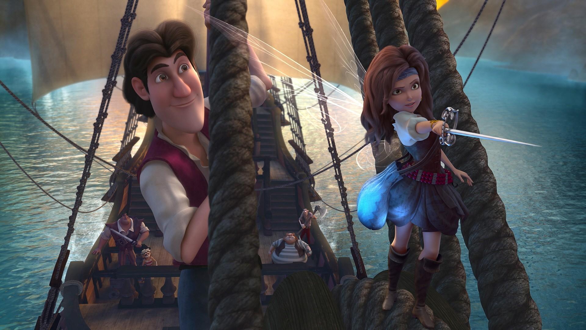 Смотреть мультик феи загадка пиратского острова онлайн бесплатно 5 фотография