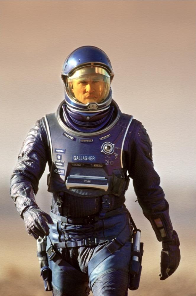 кадры из фильма Красная планета Вэл Килмер,