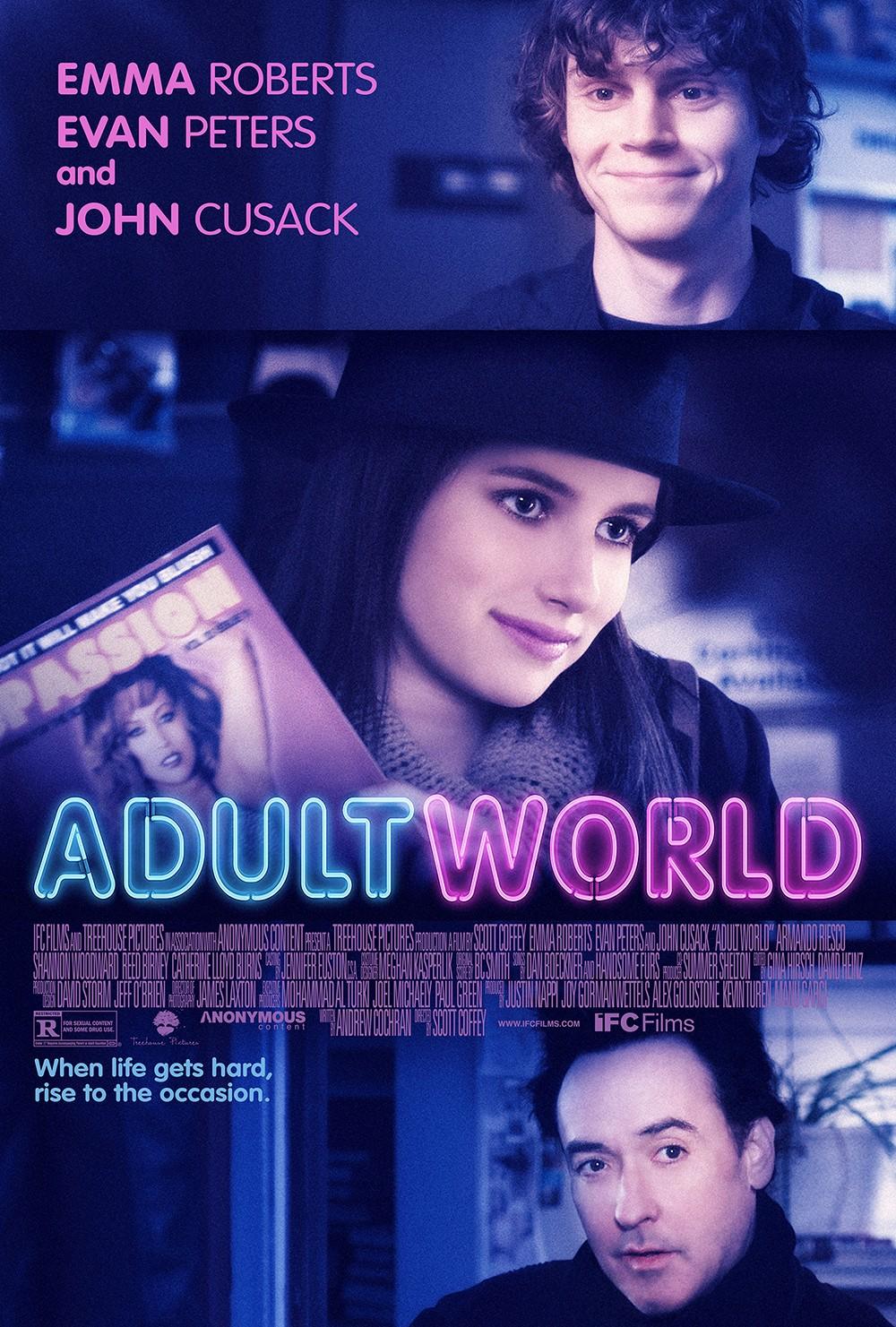 плакат фильма постер Взрослый мир*