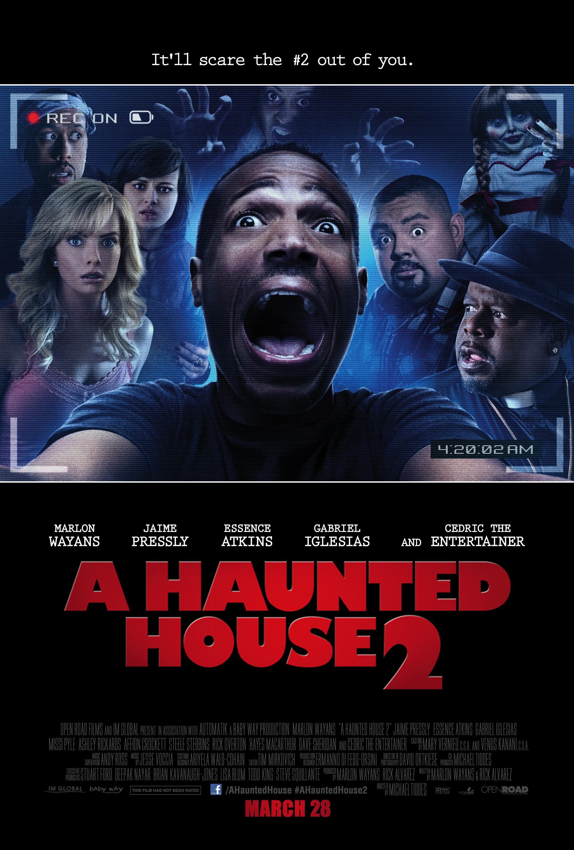 плакат фильма постер Дом с паранормальными явлениями 2
