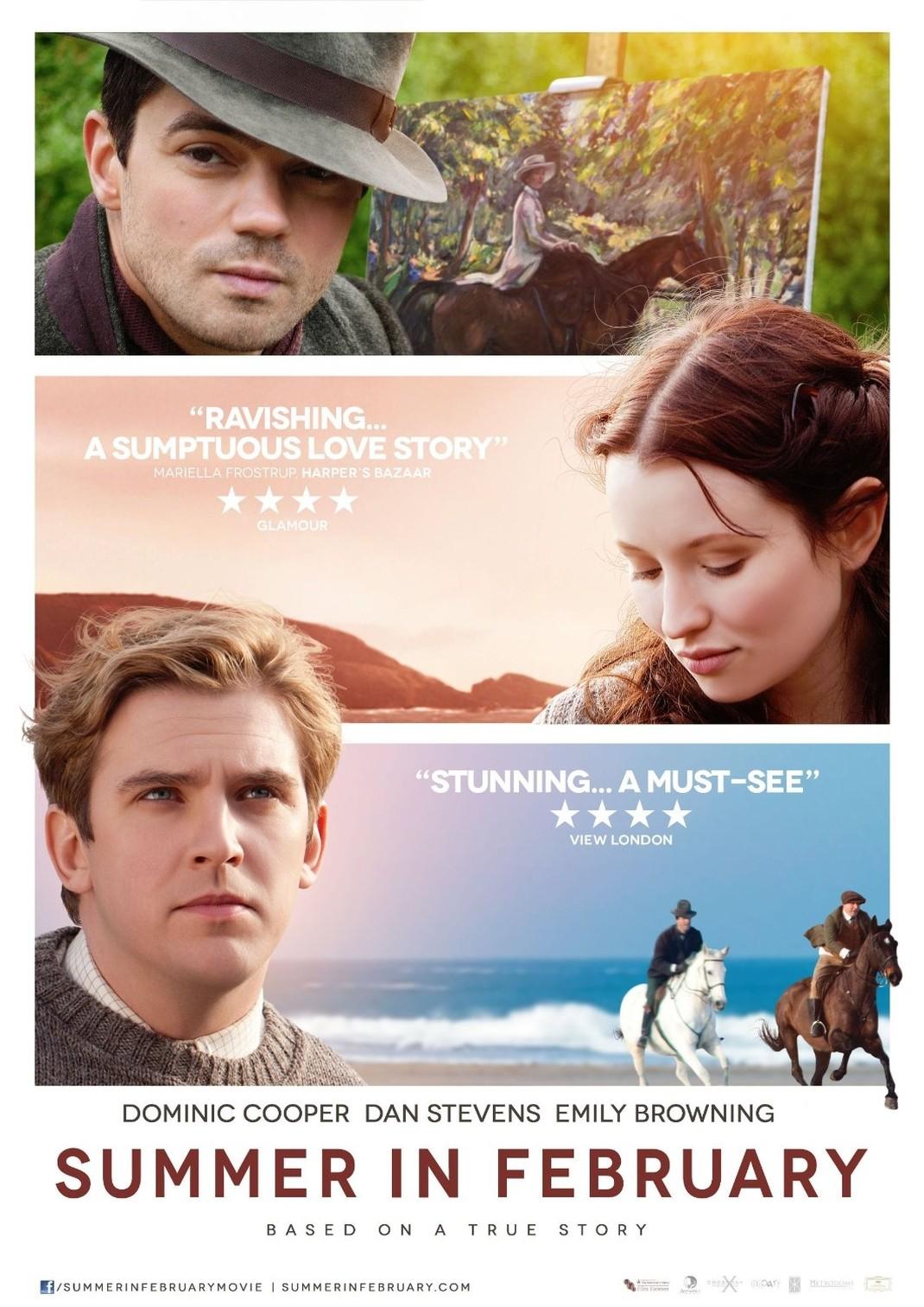 плакат фильма постер Лето в феврале*