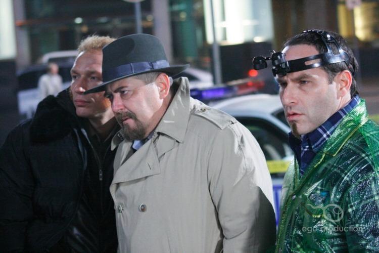кадры из фильма Очень русский детектив