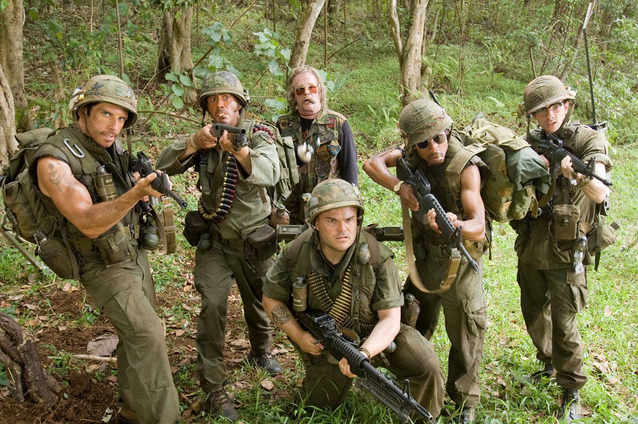 кадры из фильма Солдаты неудачи Джей Барушел, Брэндон Т. Джексон, Джек Блэк, Роберт Дауни-мл., Бен Стиллер,