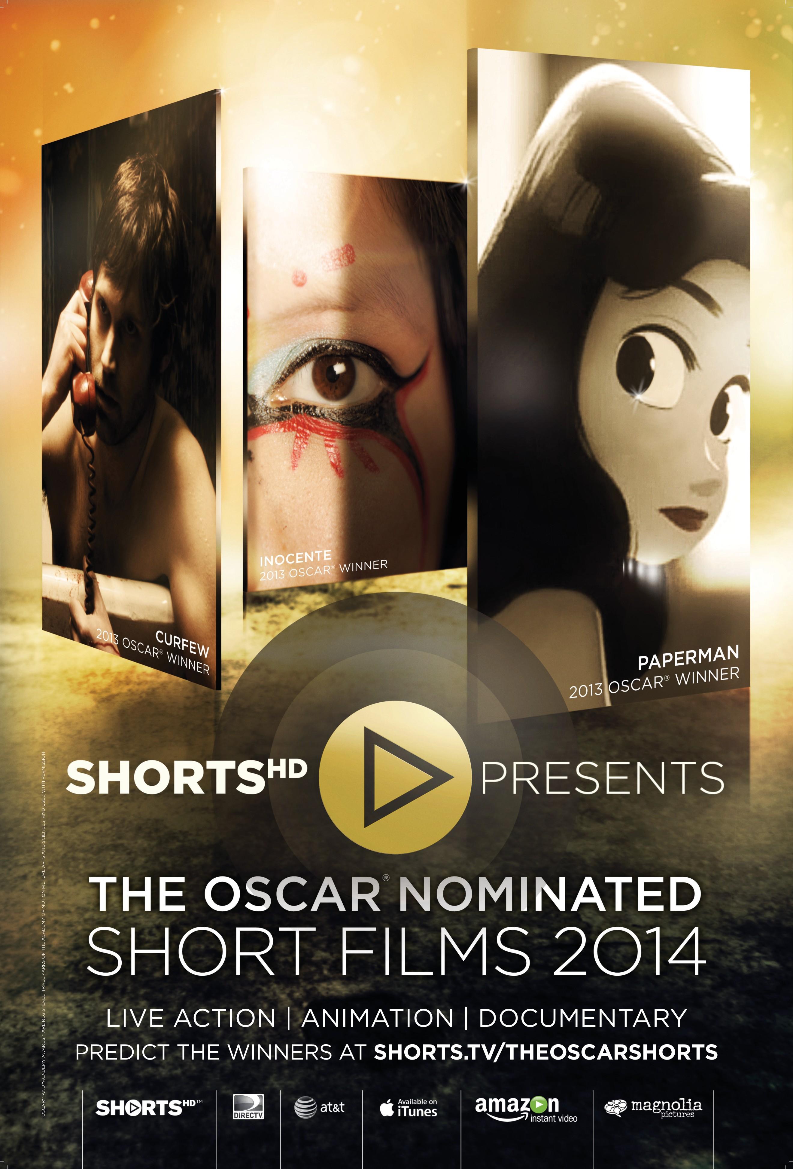 плакат фильма постер Oscar Shorts-2014. Фильмы