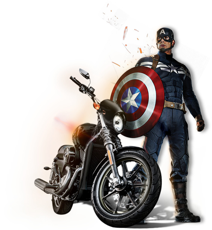 промо-слайды Первый Мститель: Другая война Крис Эванс,