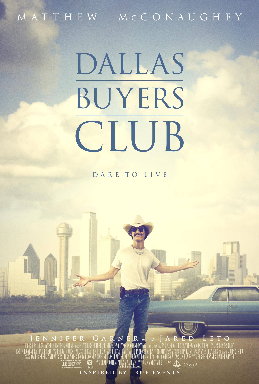 плакат фильма постер Далласский клуб покупателей