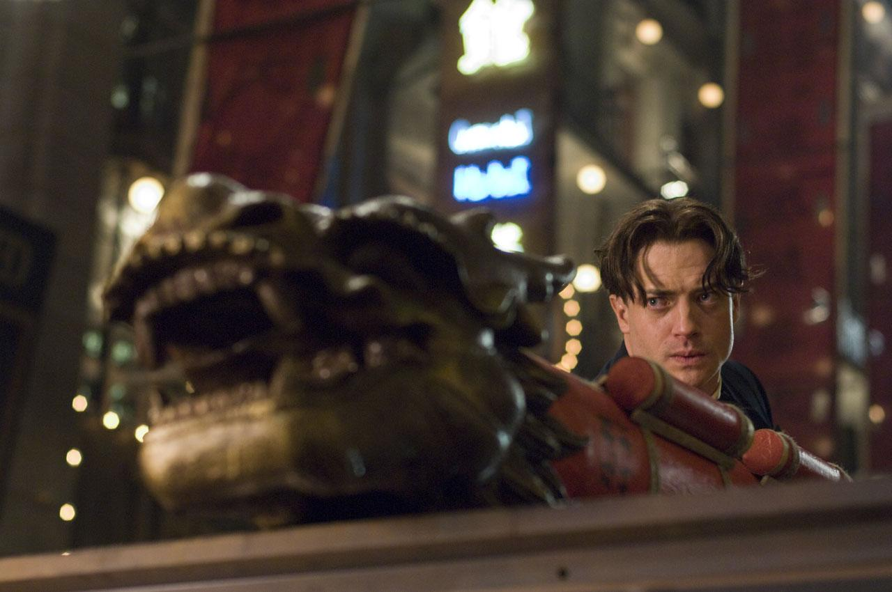 кадры из фильма Мумия: Гробница императора драконов Брендан Фрэйзер,