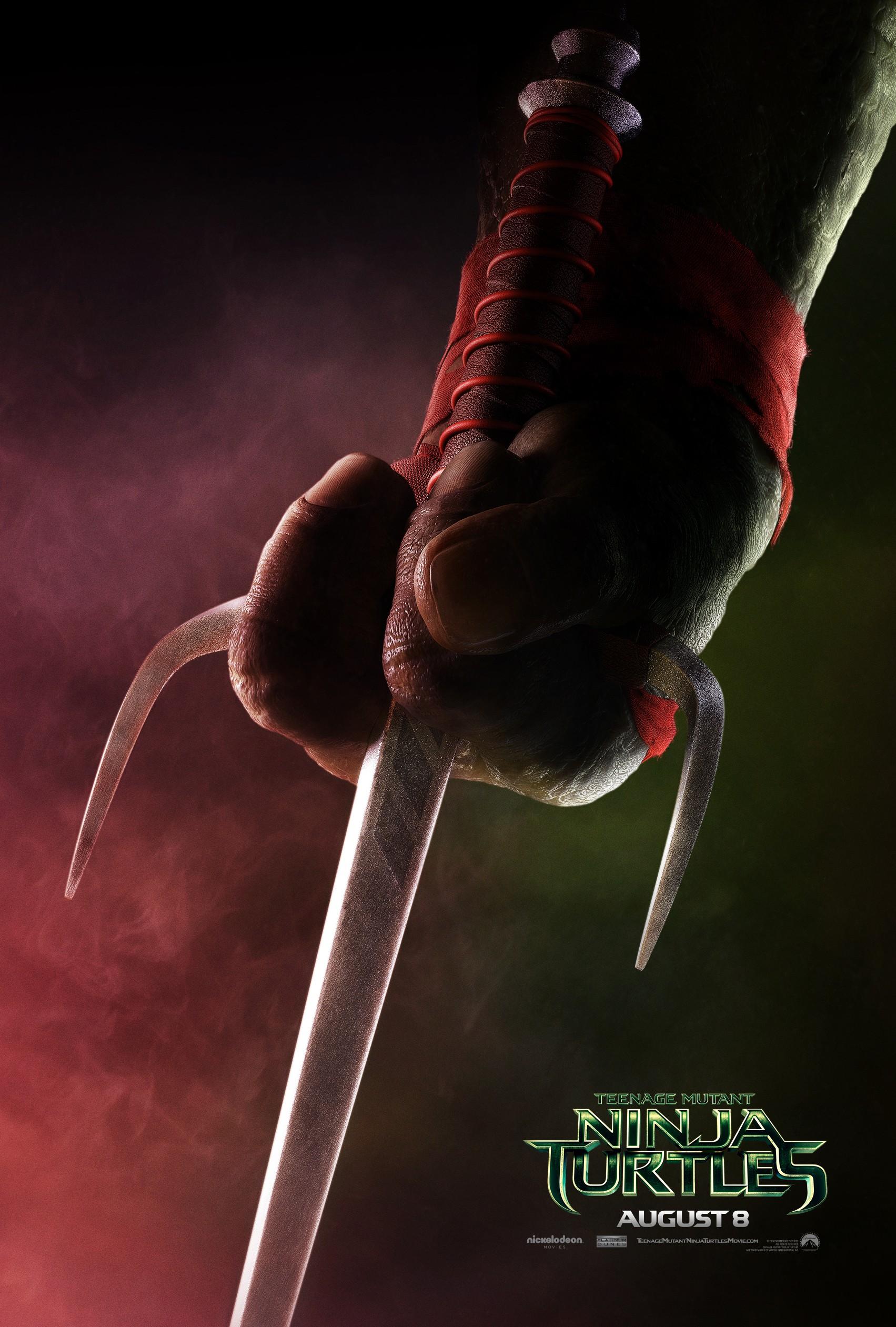 плакат фильма характер-постер Черепашки-ниндзя