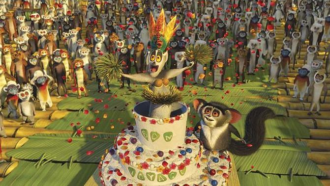 кадры из фильма Мадагаскар 2