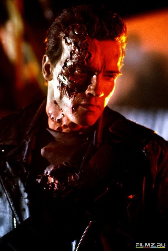 кадры из фильма Терминатор 2: Судный день Арнольд Шварценеггер,