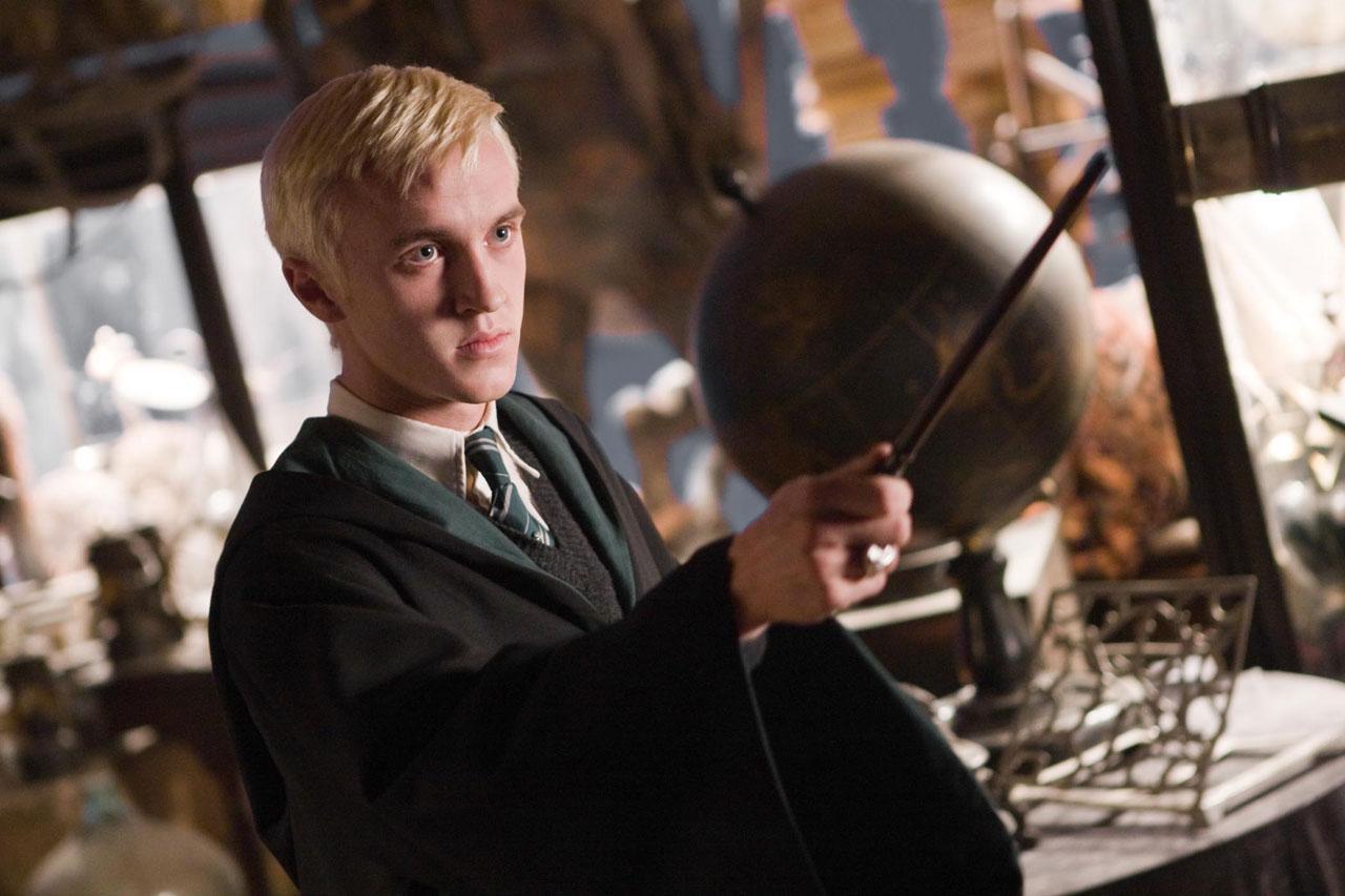 кадры из фильма Гарри Поттер и Принц-полукровка Том Фелтон,