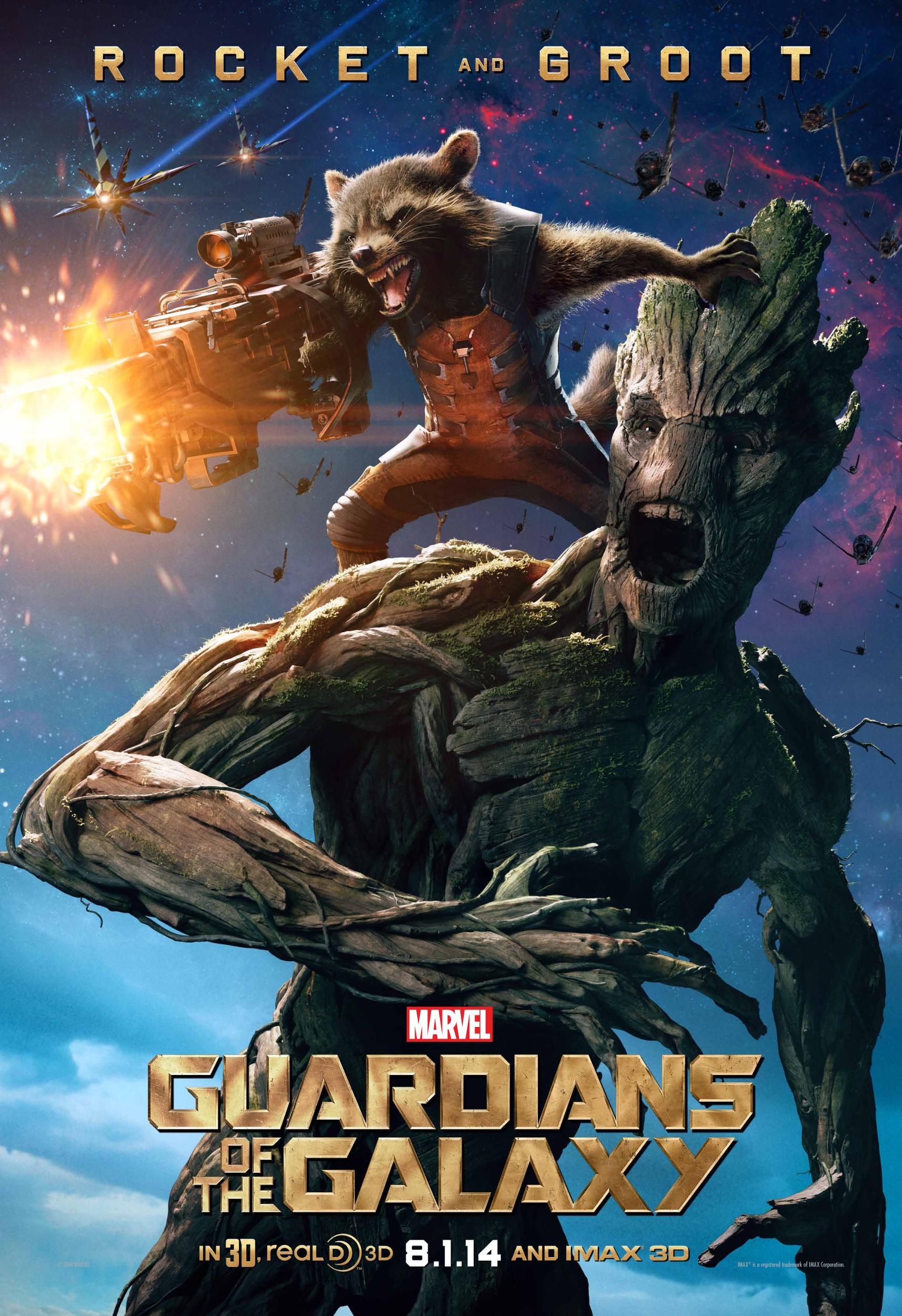 плакат фильма характер-постер Стражи Галактики