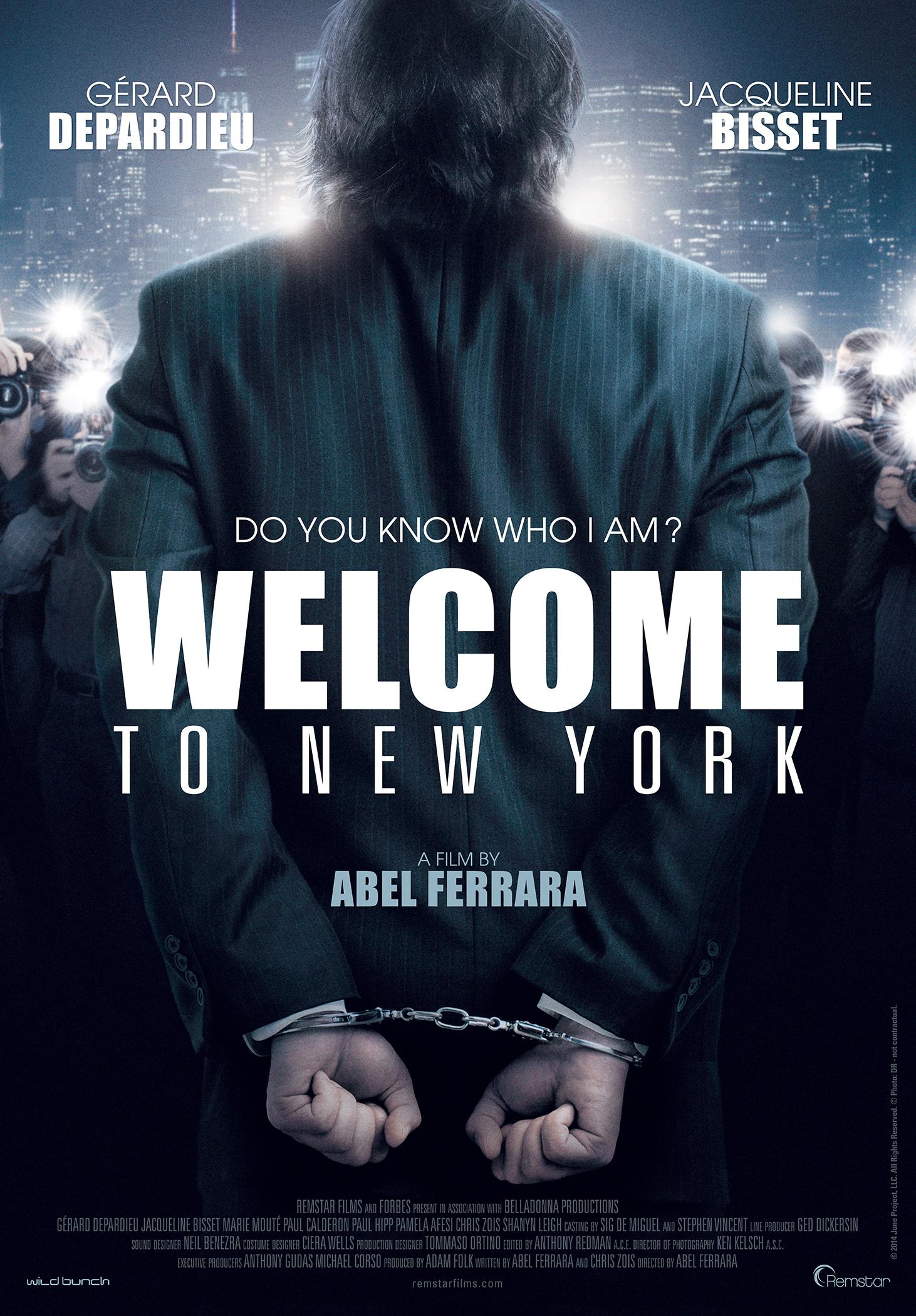 плакат фильма постер Добро пожаловать в Нью-Йорк