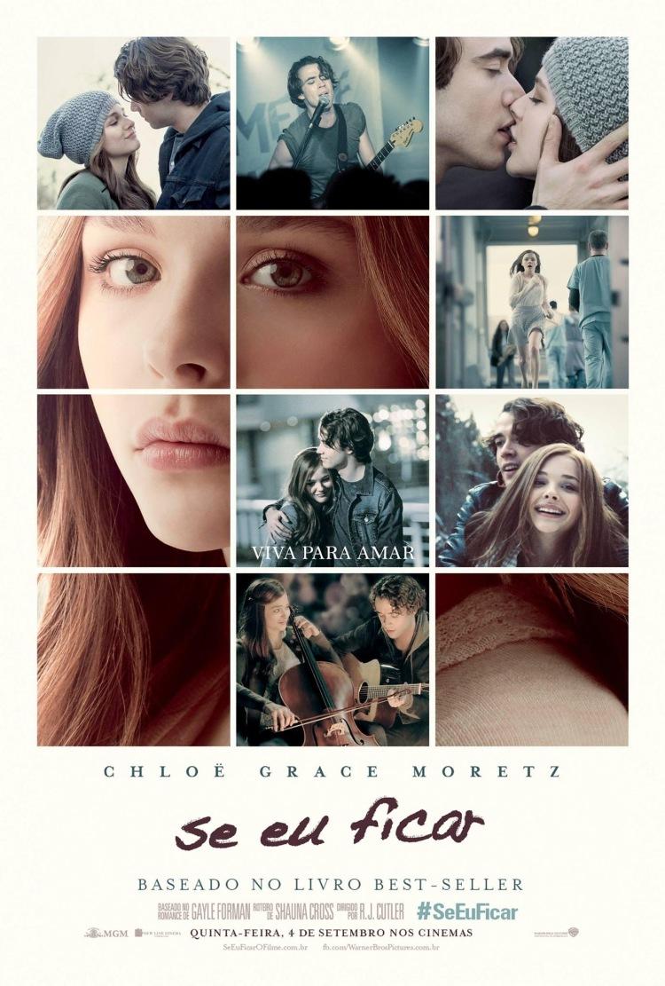 плакат фильма постер Если я останусь