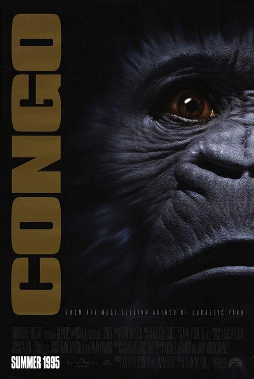 плакат фильма постер Конго