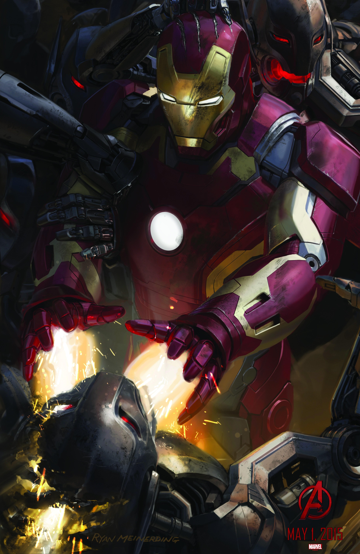 концепт-арты Мстители: Эра Альтрона
