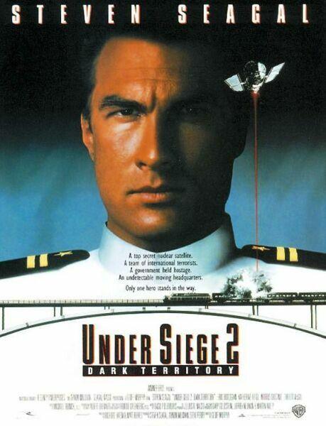 плакат фильма постер В осаде 2: Темная территория
