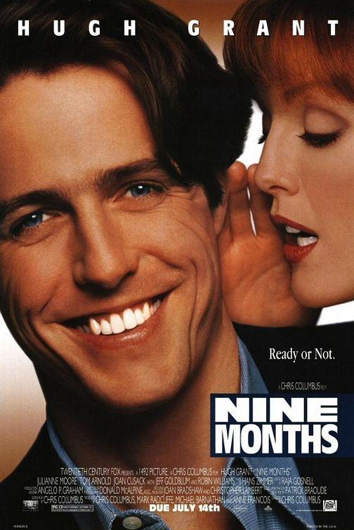 плакат фильма постер Девять месяцев