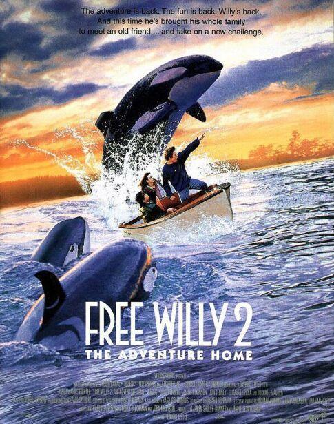 плакат фильма постер Освободите Вилли 2: Новое приключение