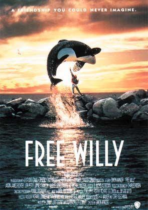 плакат фильма постер Освободите Вилли