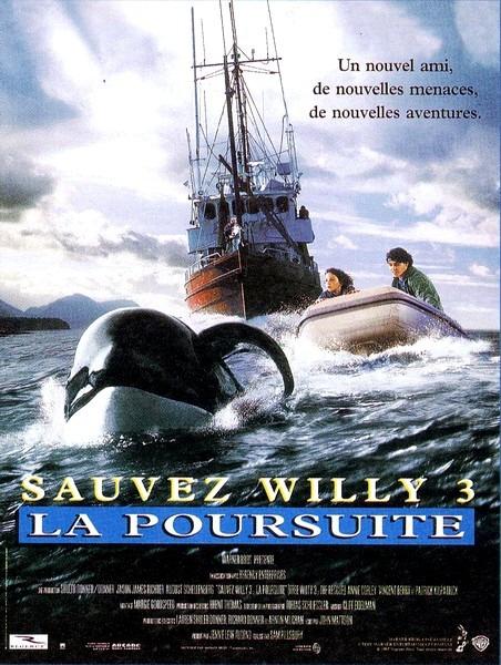 плакат фильма постер Освободите Вилли 3: Спасение