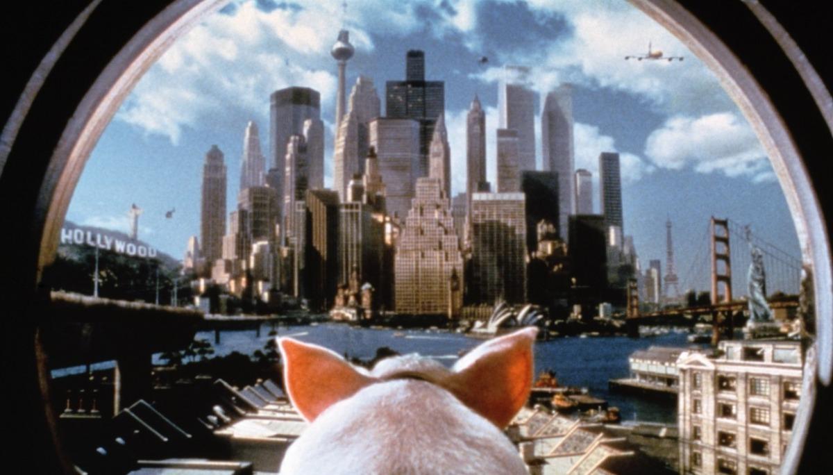 кадры из фильма Бэйб: Поросенок в городе