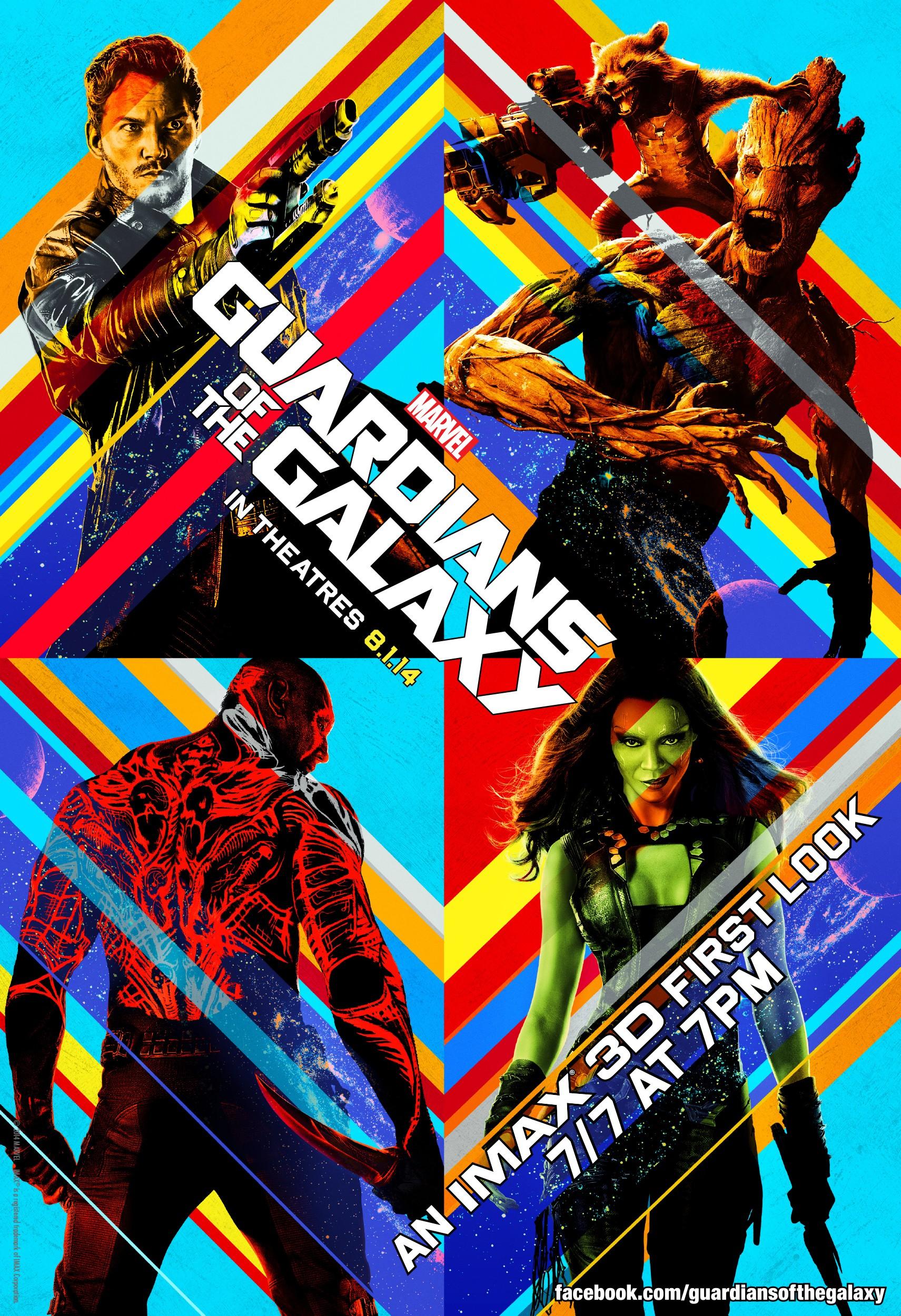 плакат фильма постер Стражи Галактики