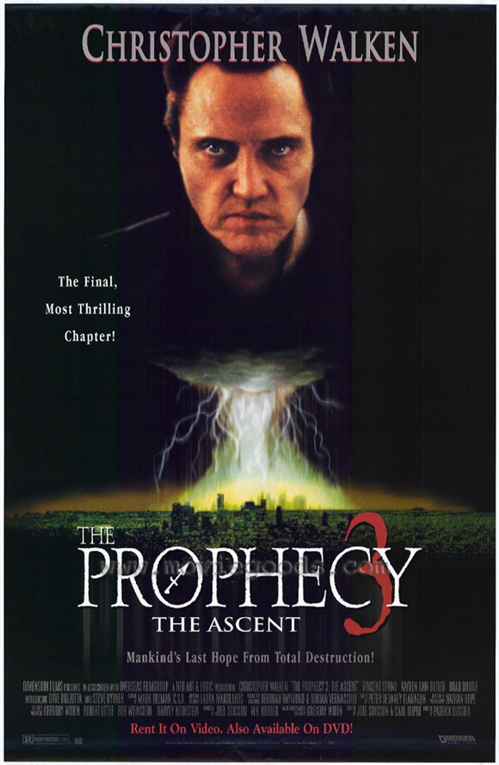 плакат фильма постер Пророчество 3: Вознесение